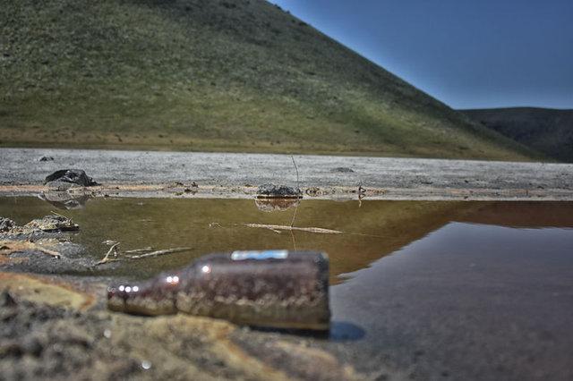 Dünyanın nazar boncuğu Meke Gölü kuruyunca ev sahipliği yaptığı kuşlar tarafından da terk edildi