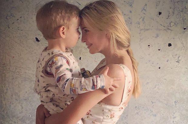 3 ayda 1500 çocuk kayboldu! Ivanka Trump oğluyla fotoğrafını paylaştı