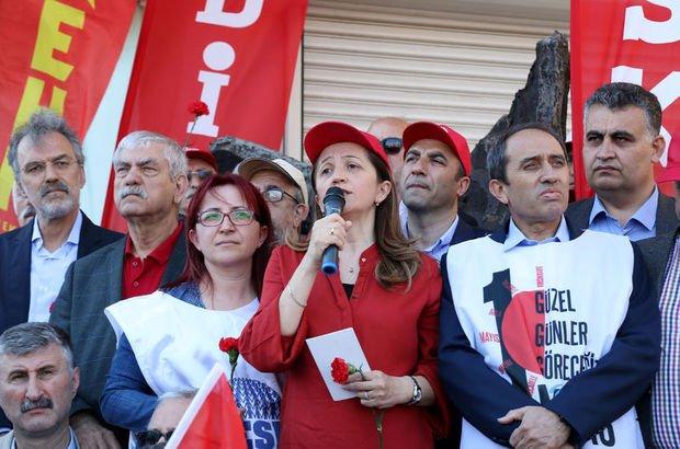 DİSK tarihinin ilk kadın genel başkanı Arzu Çerkezoğlu