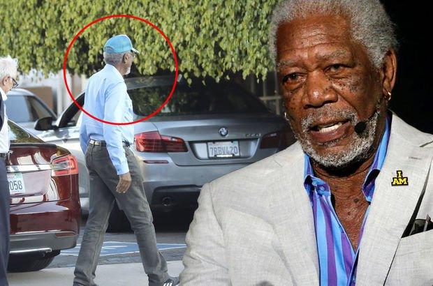 Morgan Freeman'ın başı yerde! - Magazin haberleri