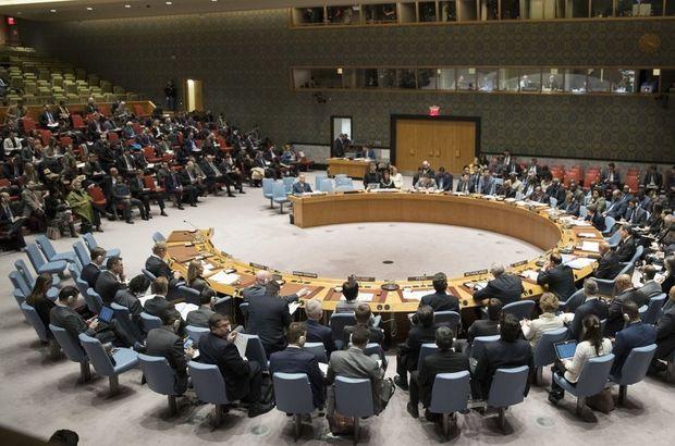 BMGK, ABD'nin talebi üzerine İsrail için toplandı