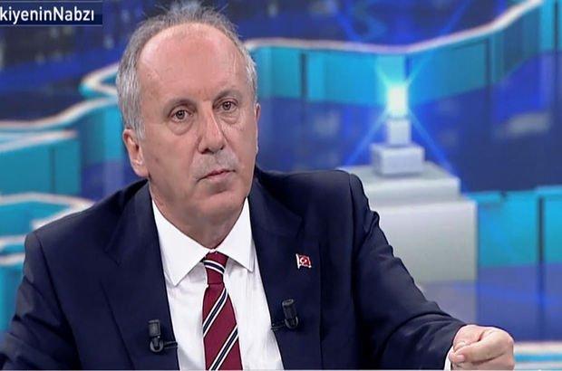 Son dakika: Muharrem İnce Habertürk TV'de soruları yanıtladı