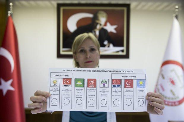 Son Dakika... Oy pusulaları tanıtıldı! Nasıl oy kullanılacak?
