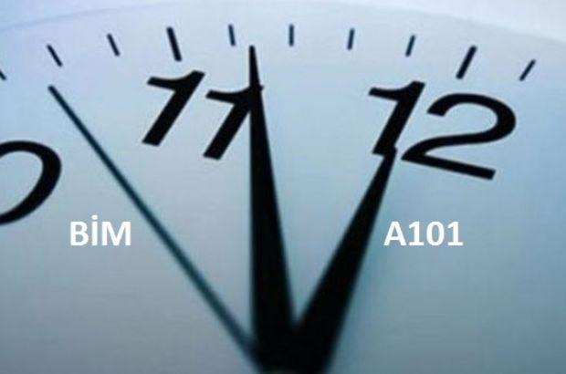 A101 ve BİM saat kaçta açılıyor? 2018 BİM ve A101 saat kaçta kapanıyor? İşte açılış-kapanış saatleri