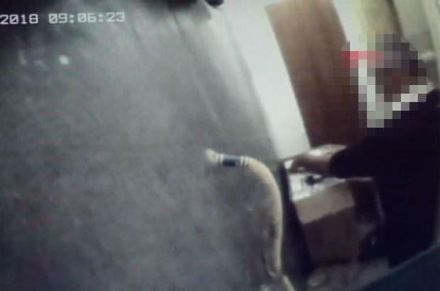 Hırsızı yakaladı hayatının şokunu yaşadı