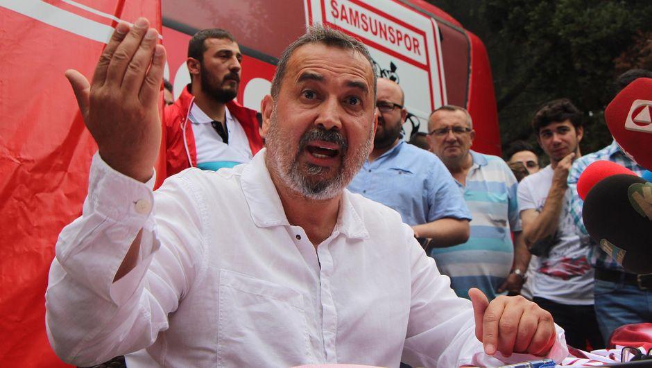 Samsun'da başkan yeniden İsmail Uyanık