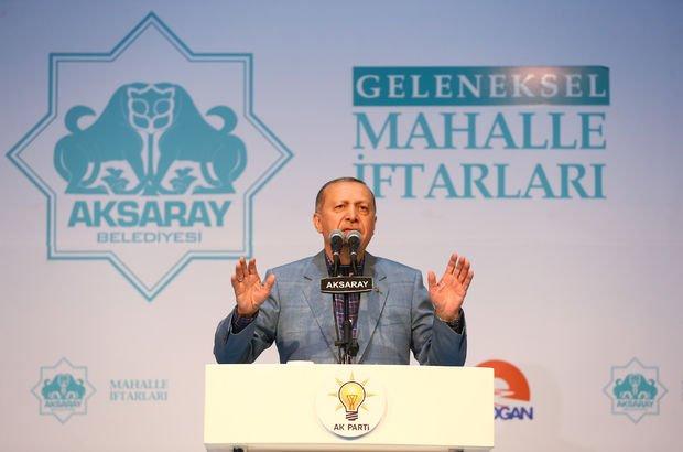 Erdoğan: Biz teröristin apoletlerini söktük