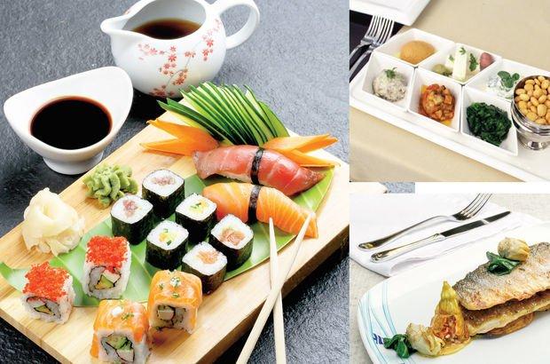 Japon yemeklerinden yerel lezzetlere