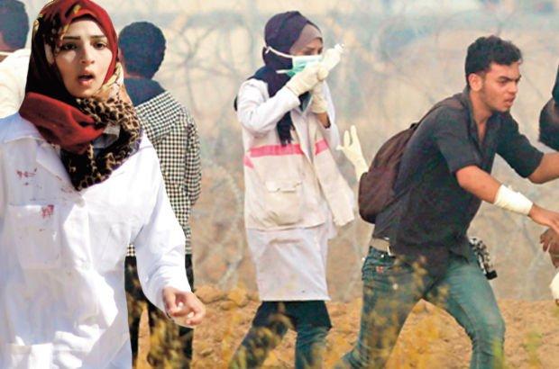 Gazze Filistin hemşire  Razan Eşref en-Neccar İsrail Filistin haberler