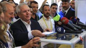 Son dakika! Aziz Yıldırım stattan ayrıldı - Fenerbahçe başkanlık seçimi Ülker Stadı'nda!