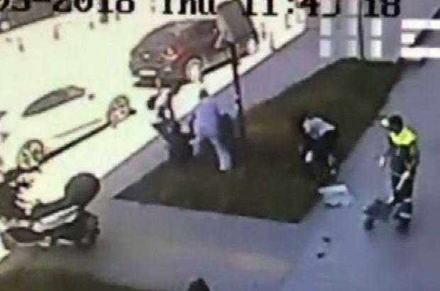 Yolda yürüyen kadına saldırdı