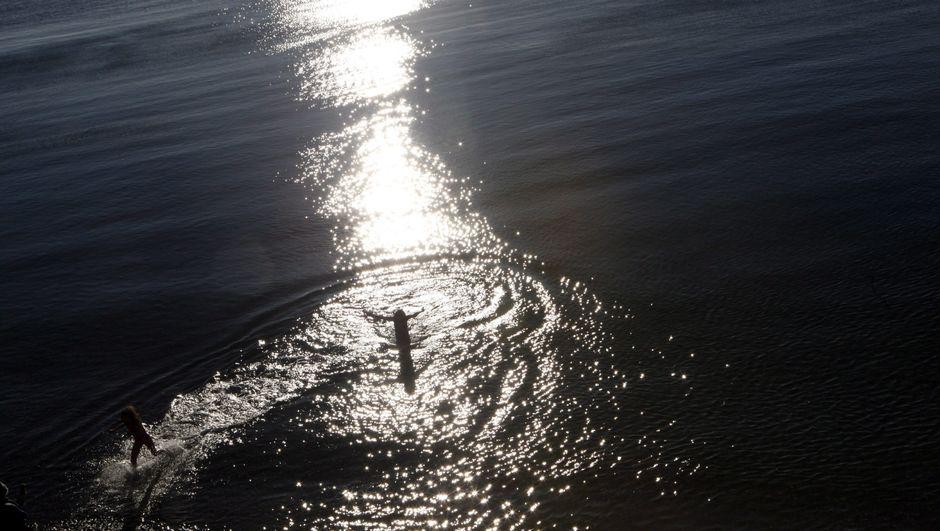 Yüzerek Pasifik Okyanusu'nu geçecek
