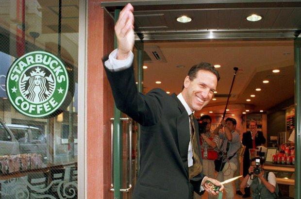 Starbucks CEO´su Howard Schultz'dan başkanlık kararı