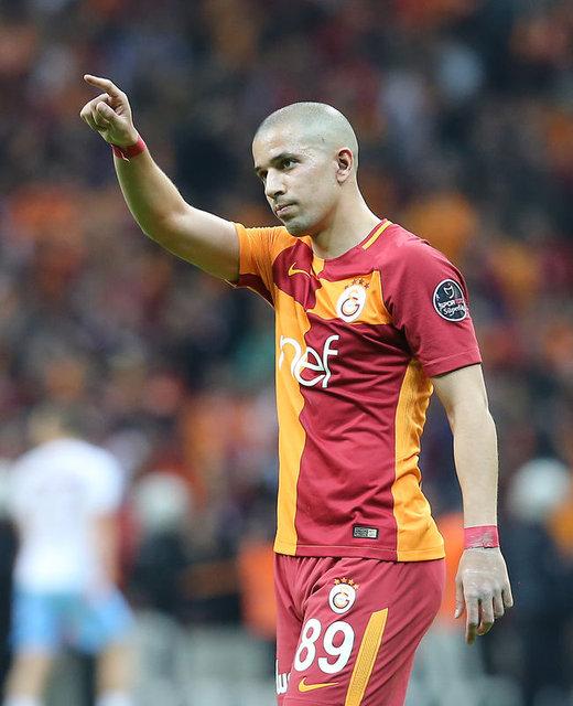 Galatasaray'ın en çok kazanan futbolcusu olan Feghouli hakkında son karar