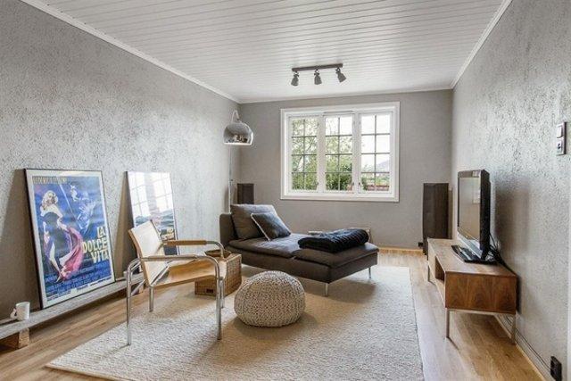Norveç'te sıvasız ve boyasız olduğu için şikayet edilen evin içi şaşkına çevirdi!