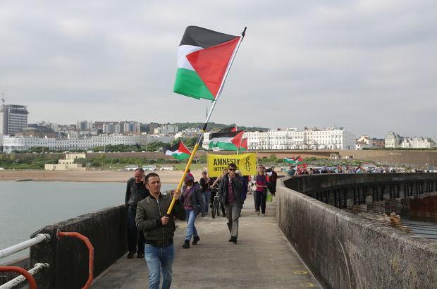 'Gazze'ye Özgürlük' Filosu Brighton'da