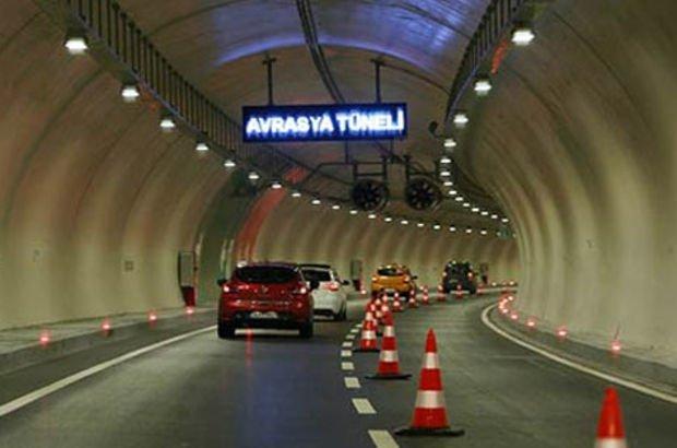 Avrasya Tüneli bu gece kapalı