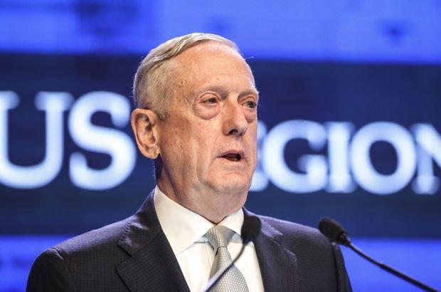 ABD Savunma Bakanı Mattis: Türkiye'nin meşru menfaatleri için bir yol bulmak zorundayız