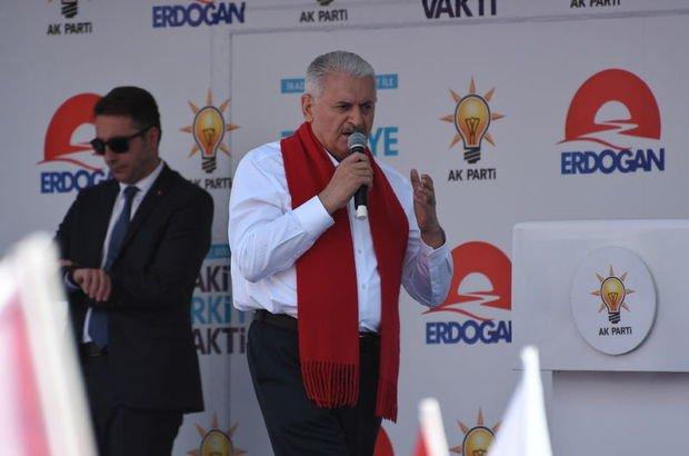 Son dakika... Başbakan Yıldırım: Kürt de Türk de kardeştir