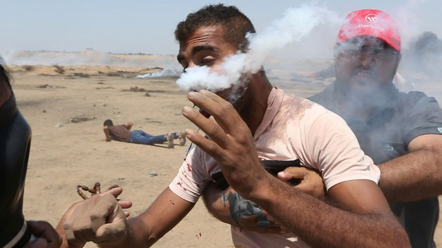 Gazze'de korkunç görüntüler!