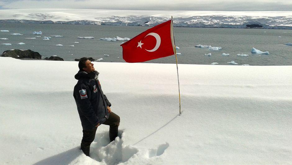 Antarktika'daki Türk üssünün yeri belli oldu