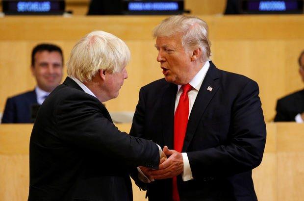 Johnson'ın Trump değerlendirmeleri basına sızdı