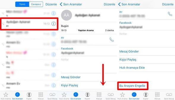 Telefondan Numara & SMS Engelleme Nasıl Yapılır?