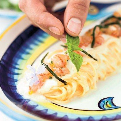 Andrea Migliaccio, ada mutfağı, Il Riccio