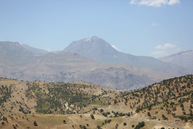Son dakika! PKK'nın en büyük kampının olduğu Kandil Dağı'ndan son fotoğraflar