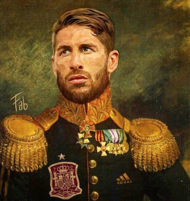 Futbolcuların yağlı boya tabloları