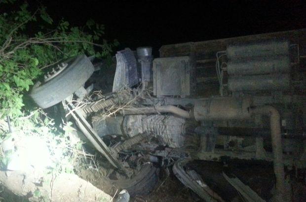 Elazığ'da korkunç kaza! 5 yaralı, 50 hayvan öldü