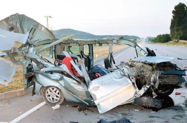 Amasya trafik kazası