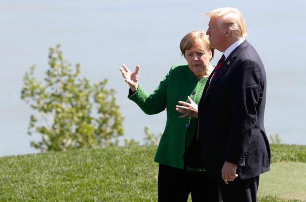Merkel'den Trump'a yaylım ateşi, Mesut ile İlkay'a destek!