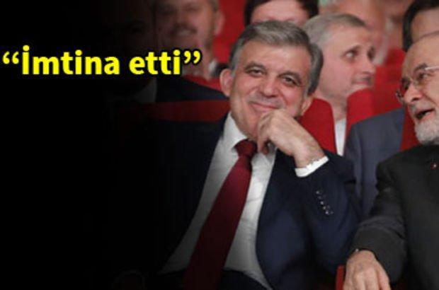 Karamollaoğlu, Abdullah Gül ile görüşmesini anlattı