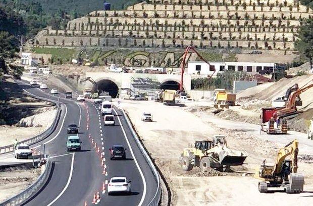 AK Parti, Binali Yıldırım, Sabuncubeli Tünelleri