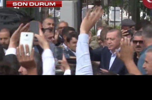 Erdoğan'dan Halisdemir'in kabrine ziyaret