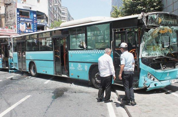 İstanbul Halk otobüsü kaza