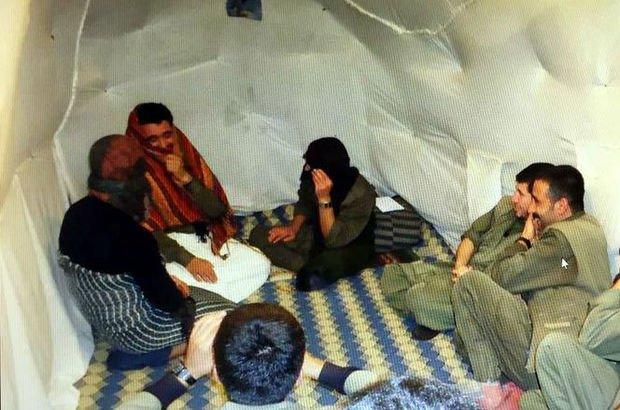 Öldürülen teröristler bu sığınakta kalıyordu