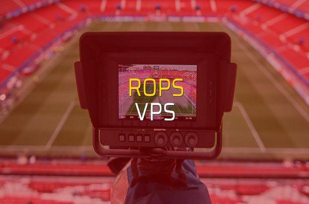 RoPS - VPS rakamlar
