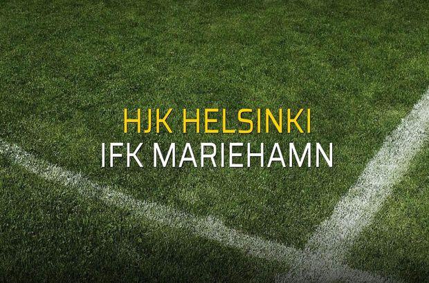 Hjk Helsinki - IFK Mariehamn maçı öncesi rakamlar