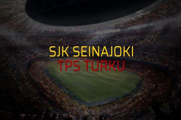 SJK Seinajoki - TPS Turku sahaya çıkıyor