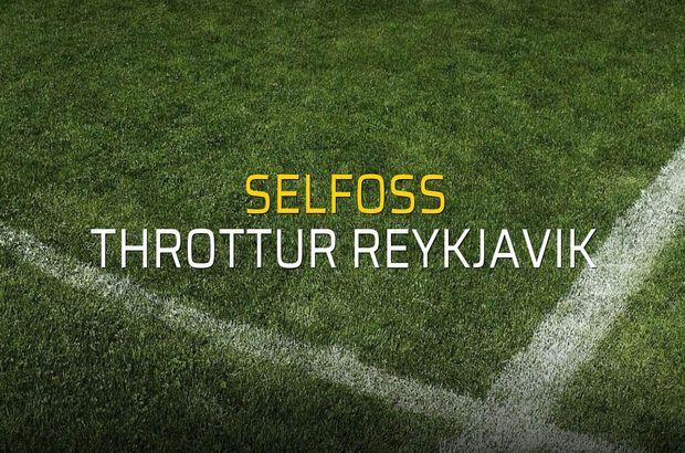 Selfoss - Throttur Reykjavik rakamlar