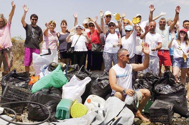 Ayvalık, temizlik, çöp, Cunda Adası