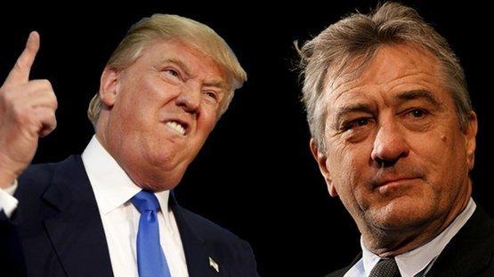 Trump'dan De Niro'ya yanıt: Uyansana, dayak sersemi