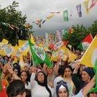 HDP MİTİNGİNDE DEMİRTAŞ'IN TRT'DEKİ KONUŞMASI İZLETTİRİLECEK