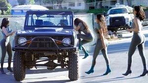 Kim Kardashian ile Kylie Jenner, California'da görüntülendi - Magazin haberleri