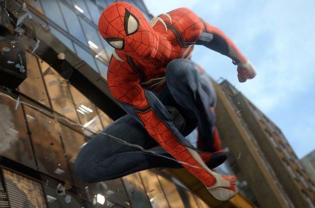 örümcek adam spider man ps4 oynanış videosu