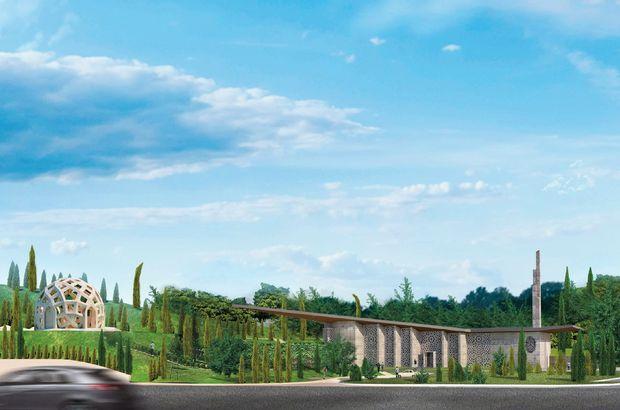 Köprü girişine müze, mescit ve trafik denetleme binası
