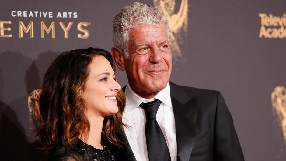 Anthony Bourdain - Asia Argento - Rose McGowan