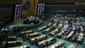 ABD'nin teklifi reddedildi! BM'den Filistin'i koruma kararı